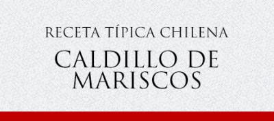 Gato Receta Típica Chilena Caldillo de Mariscos