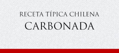 Gato Receta Típica Chilena Carbonada