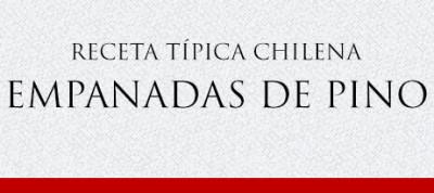Gato Receta Típica Chilena Empanadas de Pino