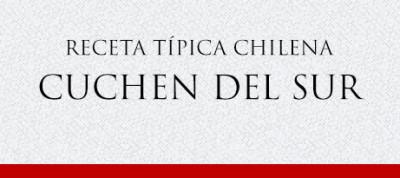 Gato Receta Típica Chilena Kuchen del Sur