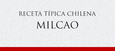 Gato Receta Típica Chilena Milcao