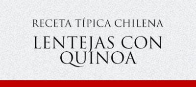 Gato Receta Típica Chilena Lentejas con Quinoa