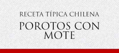 Gato Receta Típica Chilena Porotos con Mote
