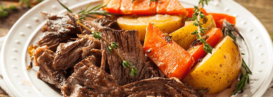 Recetas | Carne al Horno con Papas al Merquén