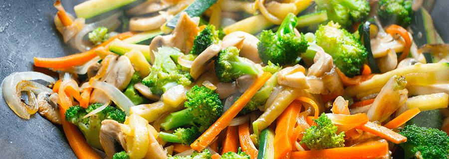 Recetas | Salteado de Verduras y Carne Acompañado con Arroz
