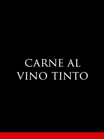 Carne al Vino Tinto