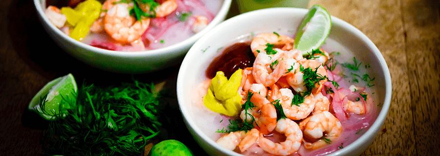 Recetas | Ceviche Chileno de Salmón y Kanikama