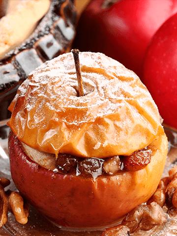 Manzanas al Horno | Recetas Chilenas