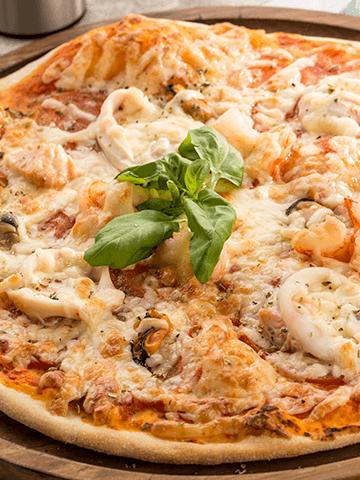 Pizza de Corvina