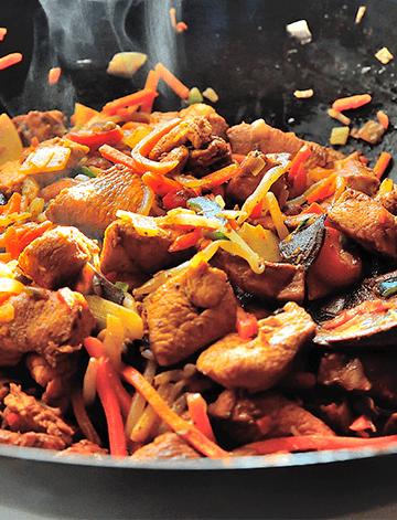 Pollo al Disco | Recetas Chilenas