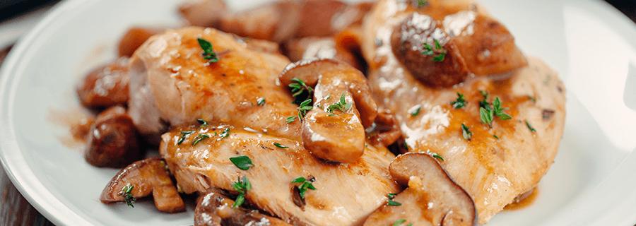 Recetas | Pollo al Champiñón