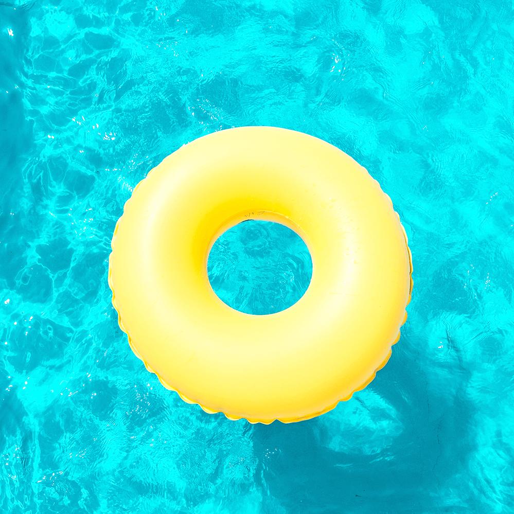 Típico de los días de piscina