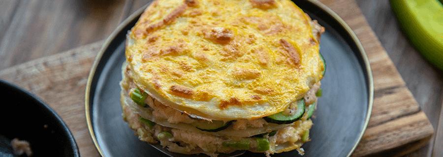 Recetas | Torta Salada de Panqueques