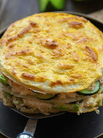 Torta Salada de Panqueques | Recetas Chilenas
