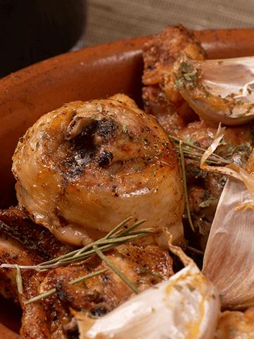 Pollo al Ajo | Recetas Chilenas