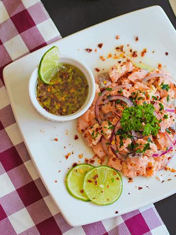 Ceviche de Salmón Chileno | Recetas Chilenas