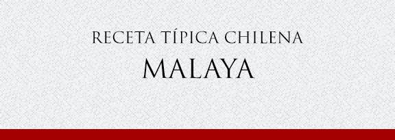 Gato Receta Típica Chilena Malaya Típica Chilena