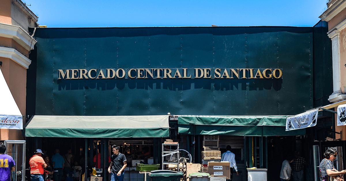 Mercado Central de Santiago | Vino Gato