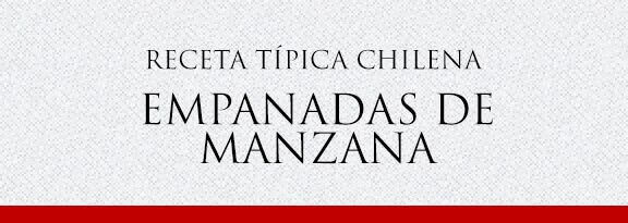 Gato Receta Típica Chilena Empanadas de Manzana