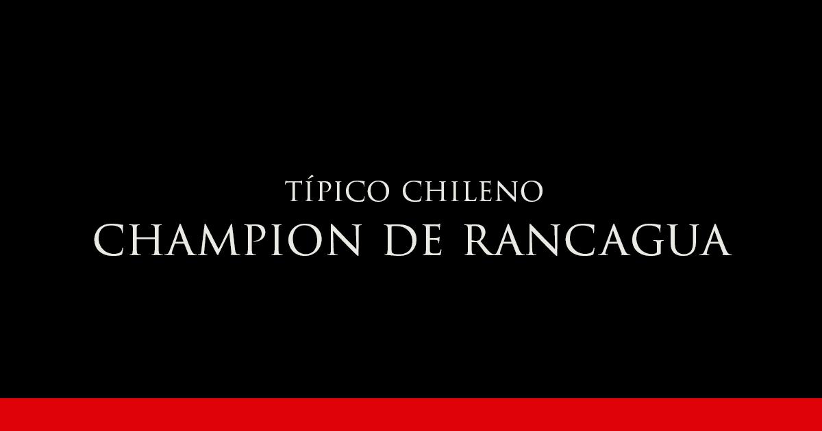Champion de Rancagua | Vino Gato