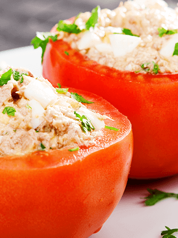 Tomates Rellenos | Recetas Chilenas