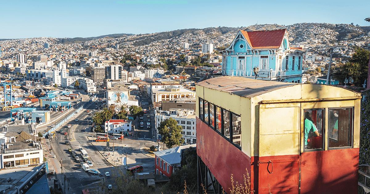 Subida de Ecuador – Valparaíso | Vino Gato