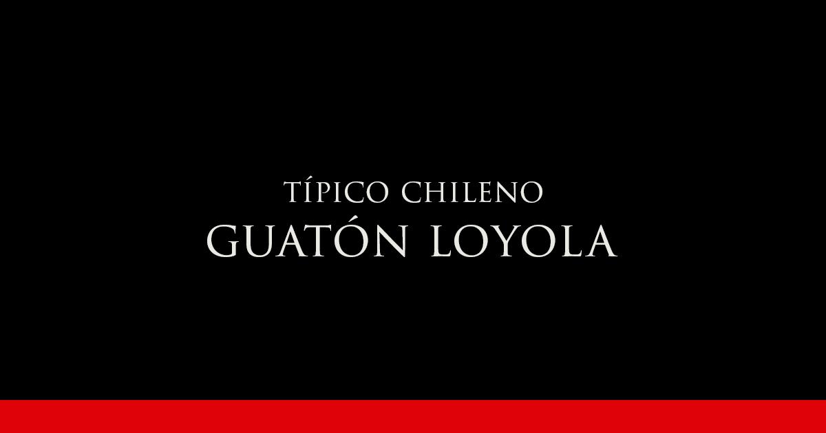 Guatón Loyola | Vino Gato