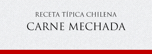 Gato Receta Típica Chilena Carne Mechada