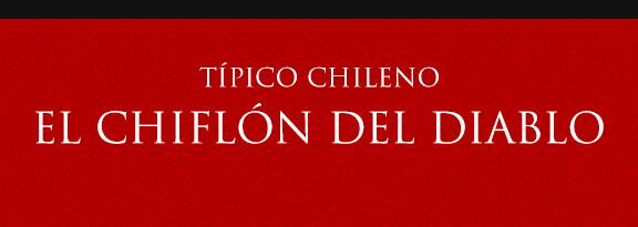 Gato Típico Chileno EL CHIFLÓN DEL DIABLO