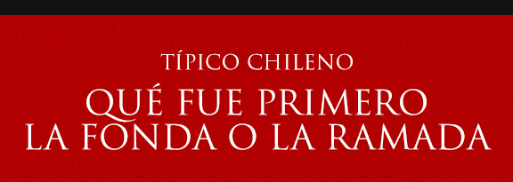 Gato Típico Chileno QUÉ FUE 1º¿FONDAS O RAMADAS?
