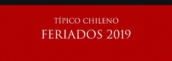 Gato Típico Chileno FERIADOS 2019