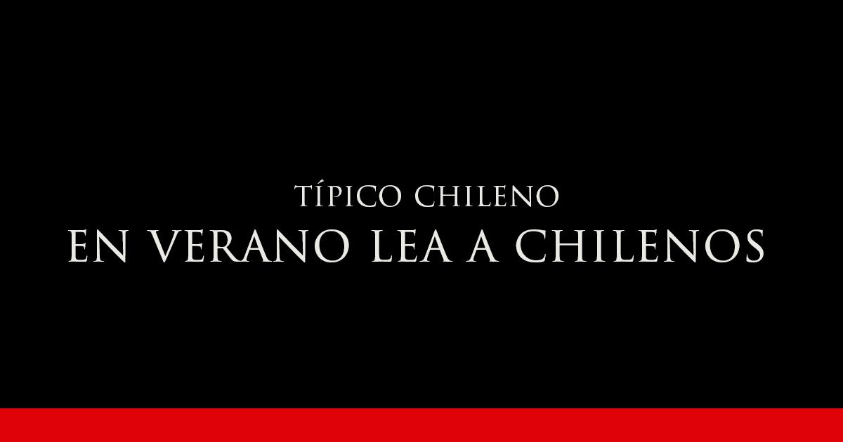 EN VERANO LEA A CHILENOS | Vino Gato