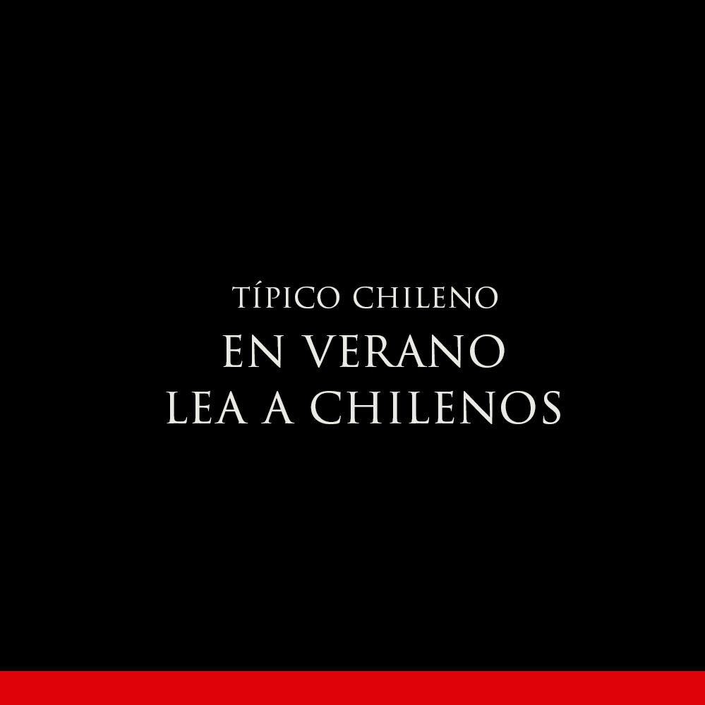EN VERANO LEA A CHILENOS